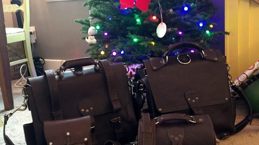 Breaking in a Saddleback Briefcase